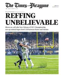 CONFLICT? NFL Referee Who Blew Call in Saints-Rams Game Lives in ...