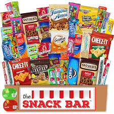 Amazon.com : The Snack Bar - Snack Care Package (40 count ...