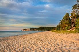 Miners Beach Lake Superior Michigan I Photograph by Karen Jorstad